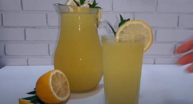 Турецкий лимонад — самый вкусный рецепт лимонада! 100 % утоляет жажду