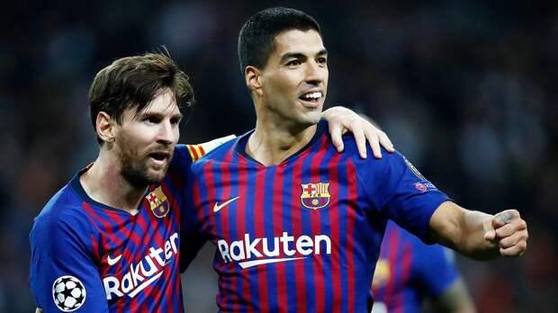 Суарес посоветовал Месси остаться в «Барселоне»