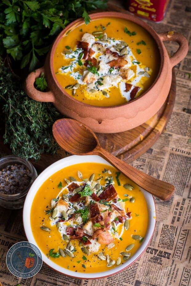 Тыквенный суп без хлопот