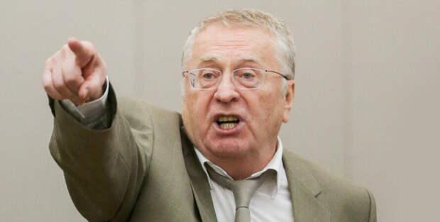 Жириновский рассказал, к чему приведет агрессия Украины в Донбассе