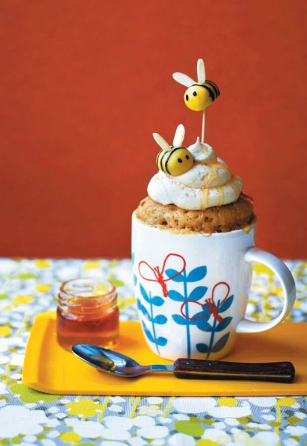 Десерт за 10 минут: кексы в кружке