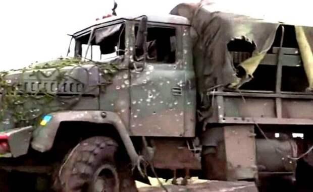 В Донбассе подорвался на мине автомобиль ВСУ, один убит, трое ранены