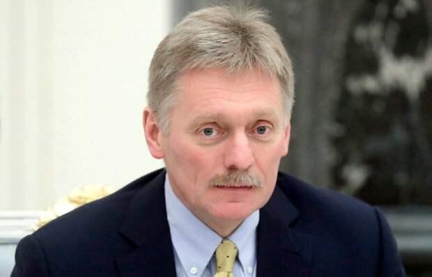 Песков прокомментировал задержание губернатора Фургала
