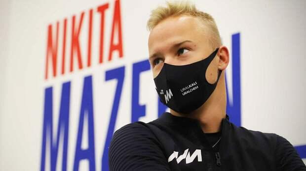 Мазепин объяснил выбор шлема, посвященного Дню Победы, на Гран-при Испании