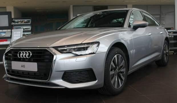 последнее поколение Audi A6