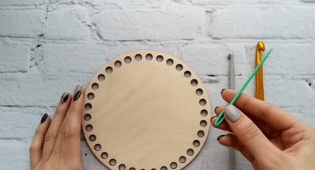 Вязаная корзинка: простая техника, позволяющая создавать уникальный декор