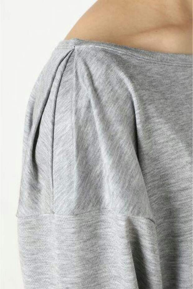 переделка футболки защипом
