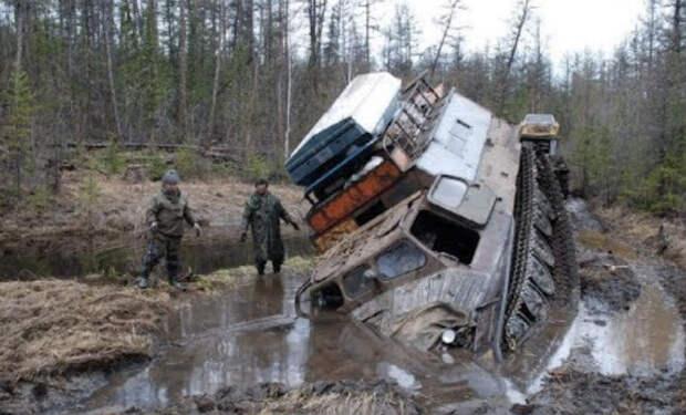 Витязь ДТ 30П: монстр для российского бездорожья