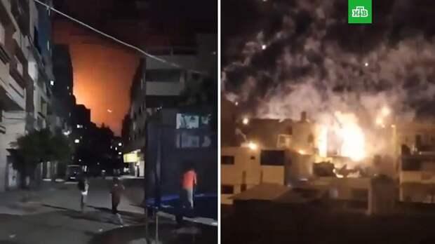 Армия Израиля атакует сектор Газа на земле и в воздухе