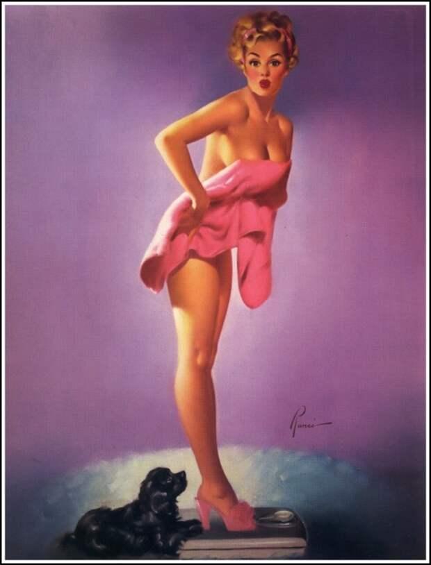 Pin-Up Art : Edward Runci (32 работ)
