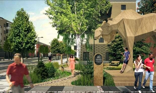 Обновленная улица Кирова в Глазове появится к концу сентября