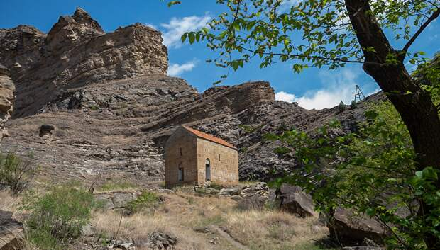 Датунский храм — древняя христианская святыня в горах Дагестана