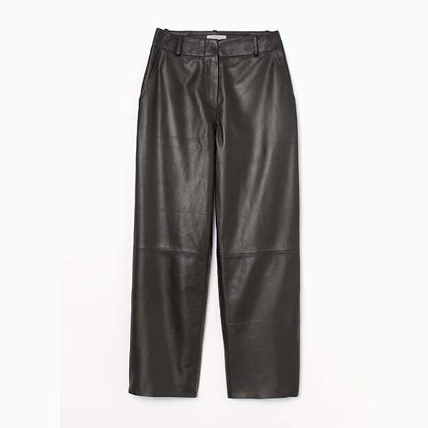 Кожаные штаны H&M