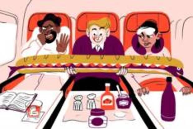 Что категорически нельзя есть на борту самолёта