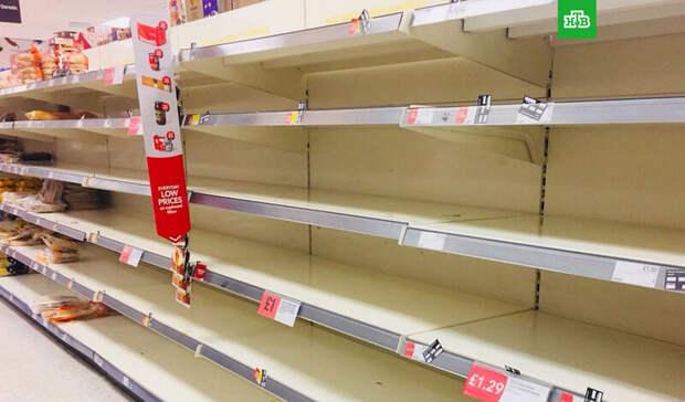 Паника в Королевстве : британцев ждет дефицит пива, мяса и гречки