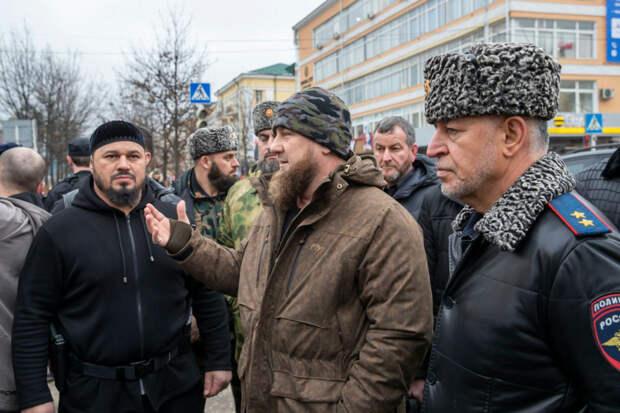 Кадыров расcказал, кто напал на полицейских в центре Грозного