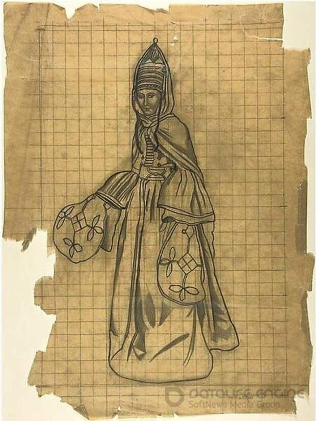В Метрополитен-музее Нью-Йорка хранится редчайший рисунок Леона Бакста