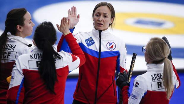 Российские керлингистки вышли в финал ЧМ