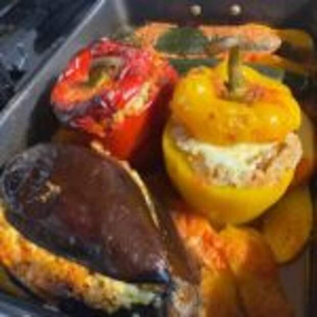 Гемиста – фаршированные овощи по-гречески
