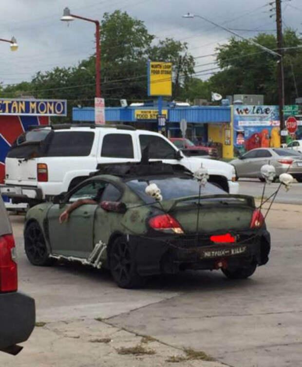 Автомобили, которые действительно выглядят странно авто, автоприкол, автотюнинг, тюнинг