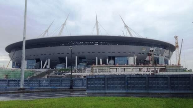 Власти Петербурга сообщили о готовности стадиона на Крестовском острове к Евро-2020