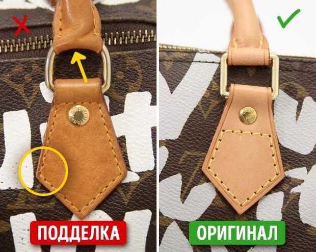 7 способов отличить настоящую брендовую сумку от подделки