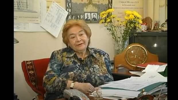 Народная артистка РФ Вера Ефремова умерла в возрасте 91 года
