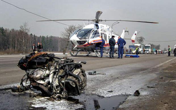 Работа МЧС при авариях: час на спасение