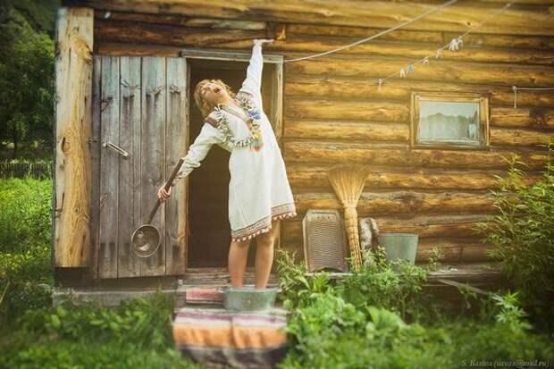 Я бы не смогла жить в таких условиях, хотя о сельской жизни, но с комфортом мечтаю. Фото https://www.facebook.com/kazina.sveta
