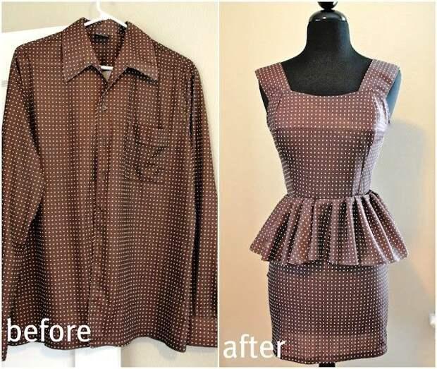 Обновки из старых рубашек