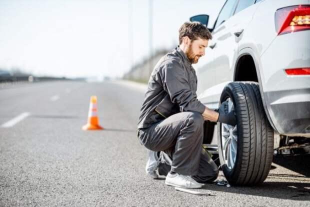 Как сделать подкат для замены колес