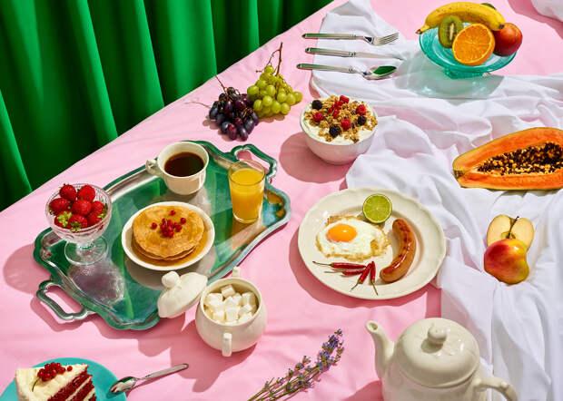 Вместо кекса будет секс: фотопроект о добром начале дня с правильным завтраком