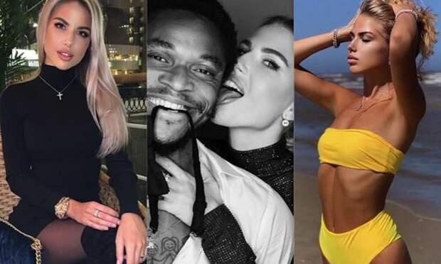 Бразильский футболист Луис Адриано удалил все фото с русской женой. Екатерина не обновляет инстаграм почти месяц