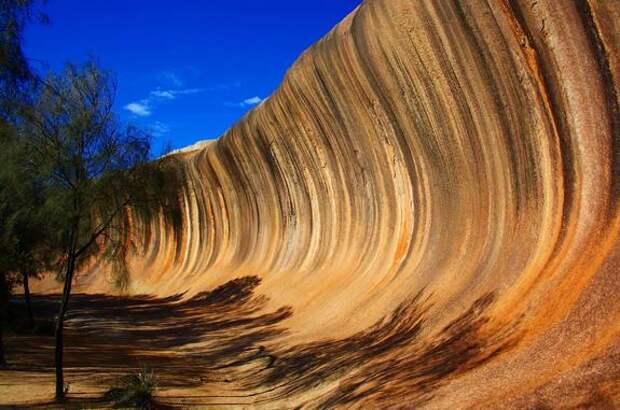 Каменная волна в Австралии — уникальное творение природы