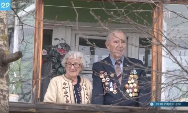 В Северодвинске под окнами ветерана сыграл духовой оркестр
