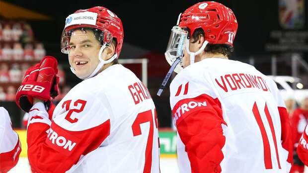 Россия в случае выхода в полуфинал ЧМ-2021 сыграет с победителем матча Финляндия — Чехия