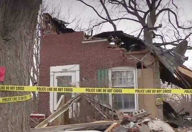 Разваленный дом
