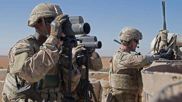 Россия напомнила Вашингтону о нелегальном пребывании американских военных в Сирии