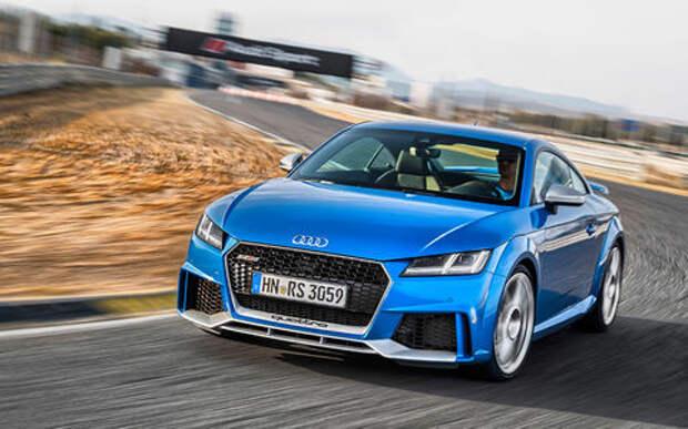 Новый Audi TT RS: дым без огня