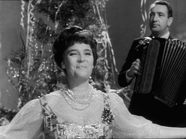 """Первый новогодний """"Голубой огонек"""" (1962)."""