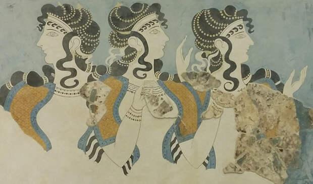 Женщины Крита.