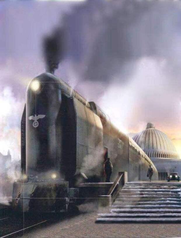 Гигантомания на рельсах, или Как в Третьем рейхе 2-этажный поезд построить хотели (11 фото)