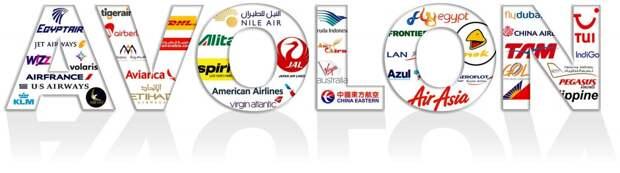 Логотипы клиентов Avolon