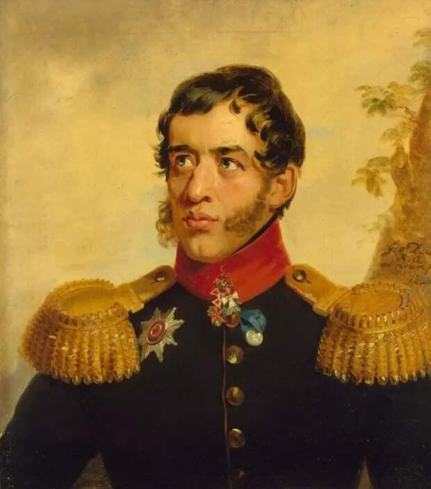 Джордж Доу. Генерал-майор князь Сергей Григорьевич Волконский 4-й, 1820. Источник: regnum.ru