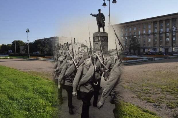 Ленинград 1941-2012. Кировская площадь блокада, ленинград, победа