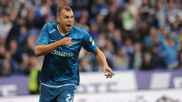 Дзюба вошел втройку лучших игроков «Зенита» посистема «гол+пас»