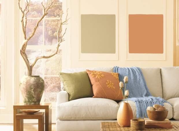 Как правильно использовать оливковый цвет в интерьере (62 фото)