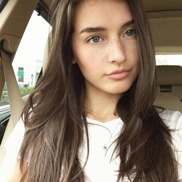 Красивые и молодые девушки с естественной красотой из нашей жизни