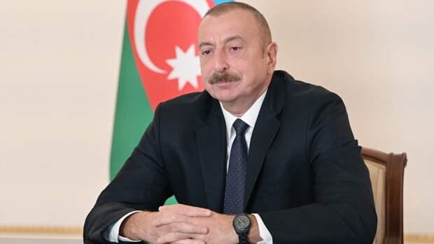 Алиев рассказал о строительстве Зангезурского транспортного коридора через Армению