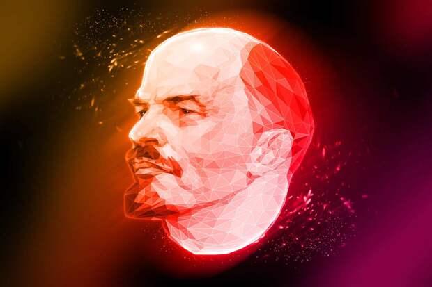 Из эфира украинского ТВ отключили участника передачи за портрет Ленина